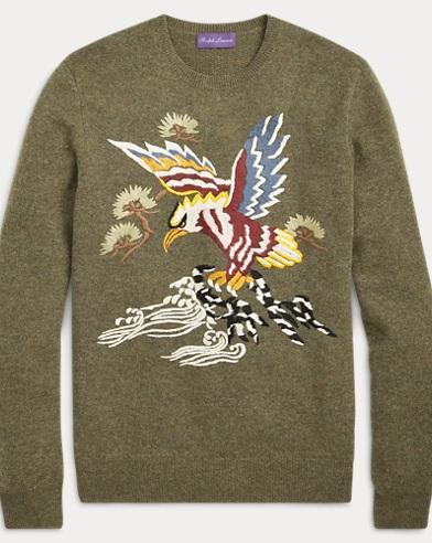 Cashmere-Silk Souvenir Sweater