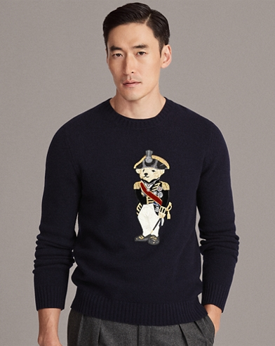 Admiral Bear Sweater