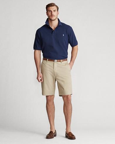 Classic-Fit Stretch-Shorts