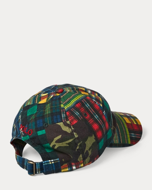 1075625ad15 Polo Ralph Lauren Cotton Patchwork Baseball Cap 2