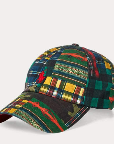 Cotton Patchwork Baseball Cap