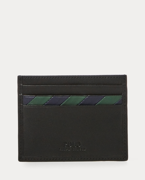 Polo Ralph Lauren Striped Leather Card Case 2