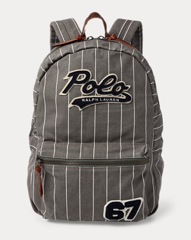 Cotton Baseball Backpack
