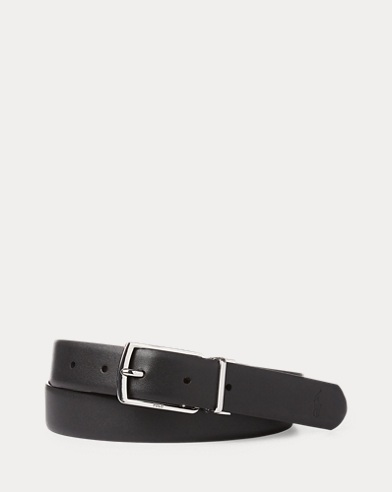 Reversible Leather Dress Belt