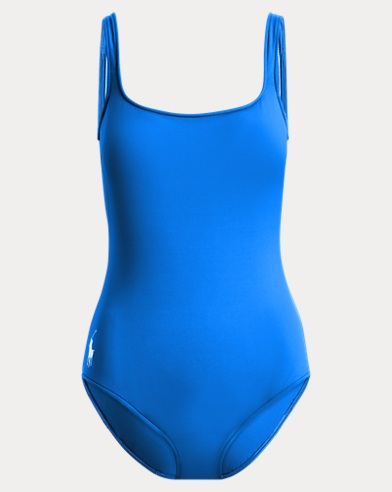 Open-Back One-Piece Swimsuit
