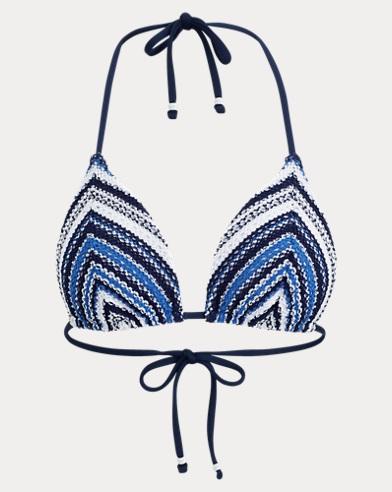 Gehäkeltes Triangel-Bikinitop