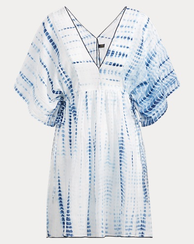 Tie-Dye Voile Cover-Up