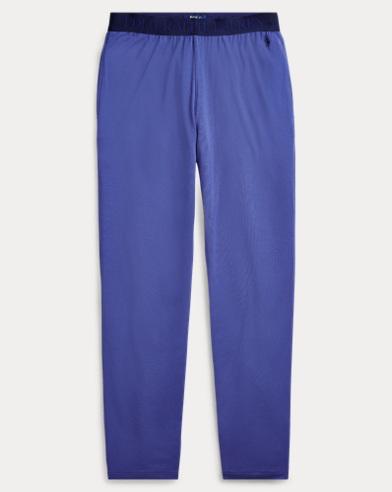 Slim-Fit Pyjamahose aus Baumwolle