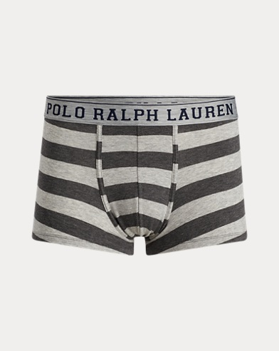 Striped Cotton Trunk