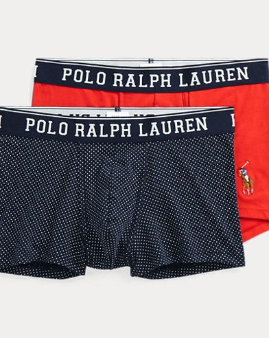 Due paia di boxer in cotone stretch