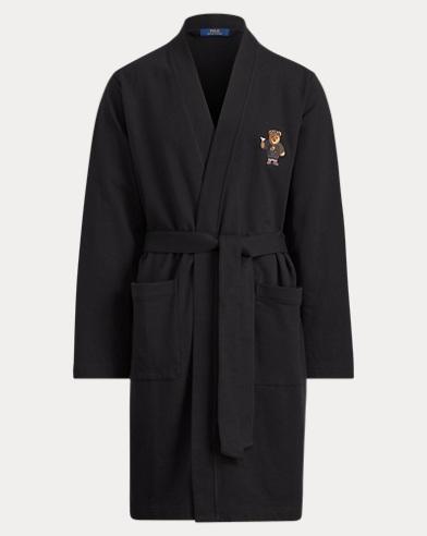 Morgenmantel in Kimono-Optik