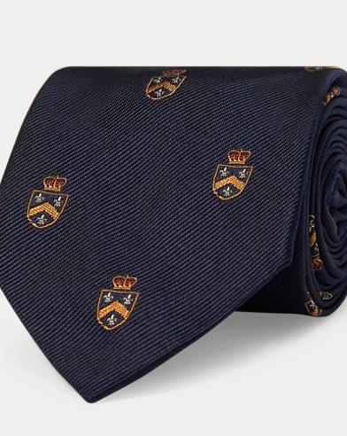 Silk Club Narrow Tie