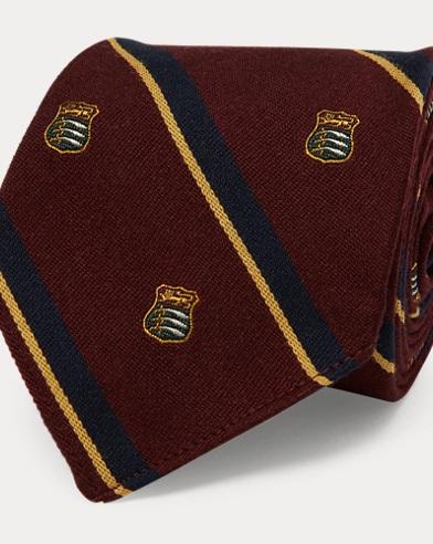 Vintage-Inspired Club Tie