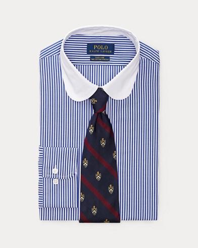 Custom-Fit Hemd mit Streifen