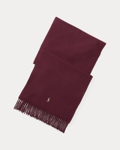Fringed Virgin Wool Scarf