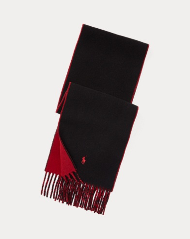 Fringed Reversible Scarf