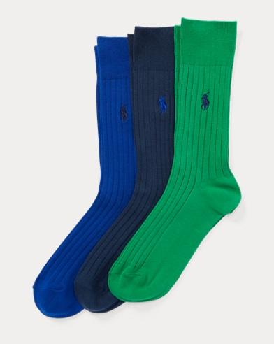 Rib-Knit Trouser Sock 3-Pack