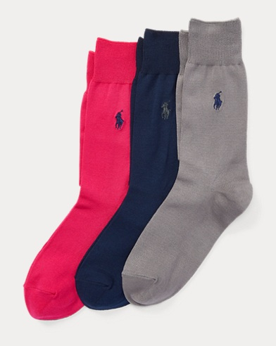 Mercerised Sock 3-Pack