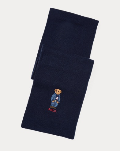 Polo Bear Scarf
