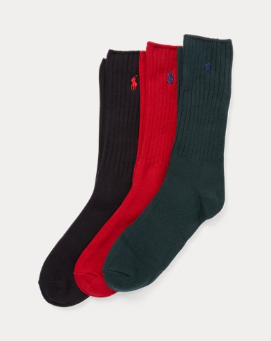 Cotton-Blend Sock 3-Pack