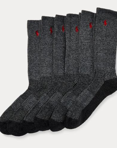 Marled Crew Sock 6-Pack