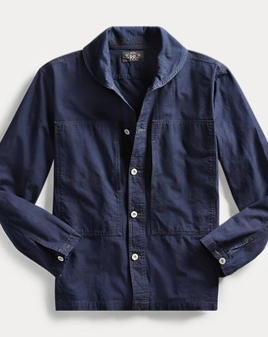 Indigo Ripstop Shirt
