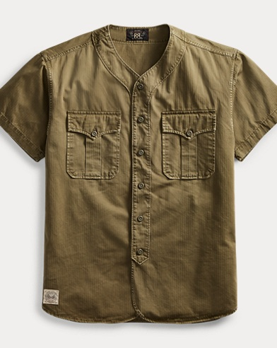Herringbone Baseball Shirt