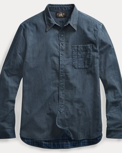 Indigo Striped Workshirt