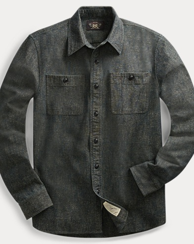 Cotton-Blend Workshirt