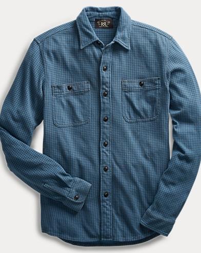 Houndstooth Jersey Workshirt