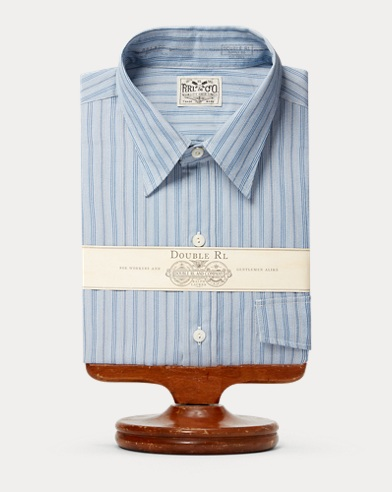 Eli Striped Poplin Shirt