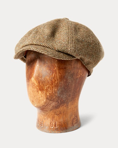 Donegal Tweed Newsboy Cap