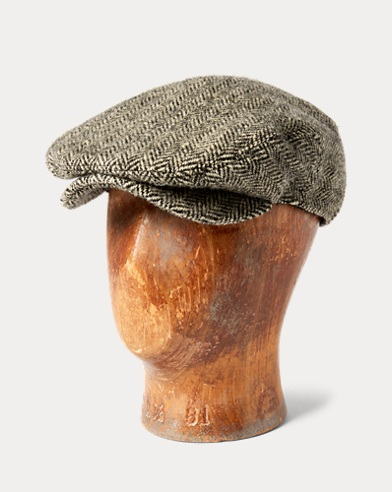 Harris Tweed Driver Cap