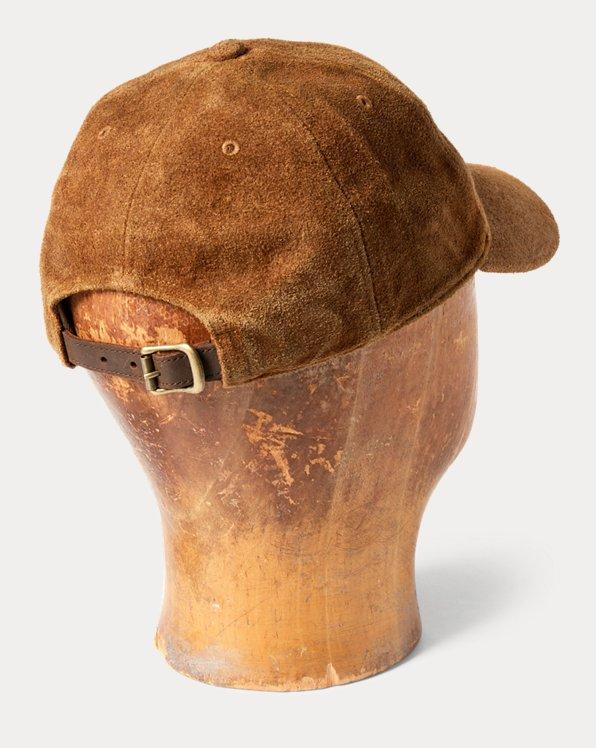 Suede Ball Cap