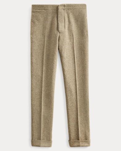 Slim Tweed Suit Trouser