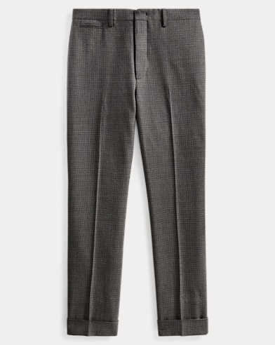 Slim Fit Houndstooth Trouser