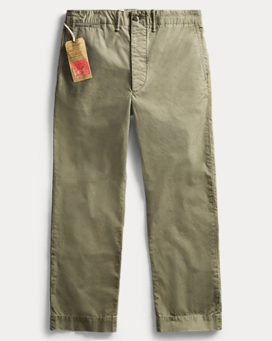Cotton Poplin Field Chino