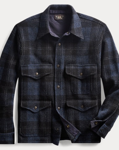 Plaid Knit Birdseye Jacket