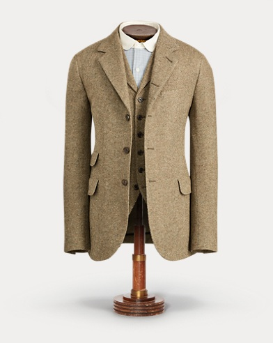 Donegal Tweed Suit Jacket