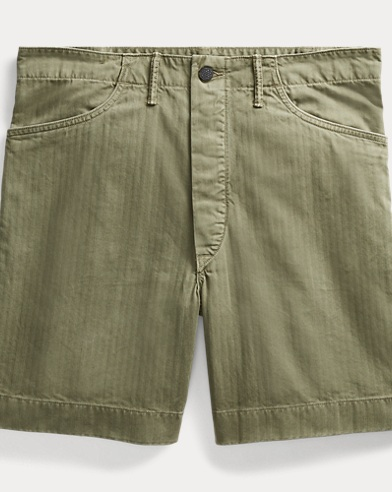 Herringbone Utility Short