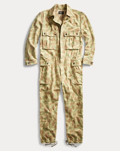 Camo Herringbone Coverall
