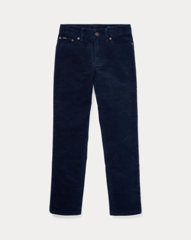 Pantaloni skinny velluto a coste