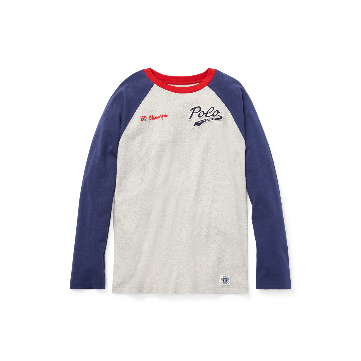ShirtRalph Jersey Fr Baseball T Lauren Cotton DYe9b2HWEI