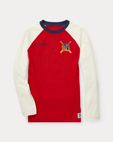 Polo Bear Baseball T-Shirt