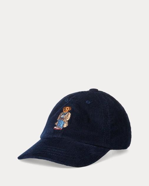 Boys 8-20 Bear Corduroy Baseball Cap 1 f2ecb0c1a2a