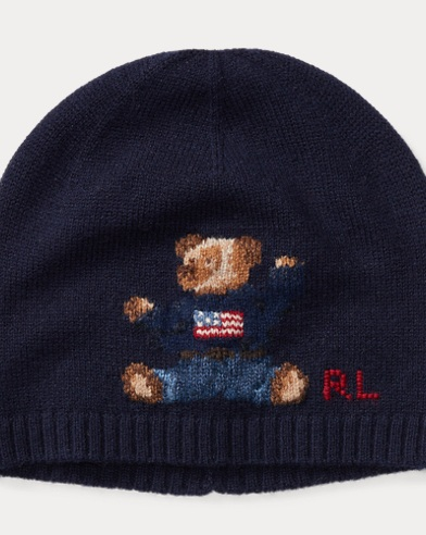 Bear Cashmere-Blend Hat