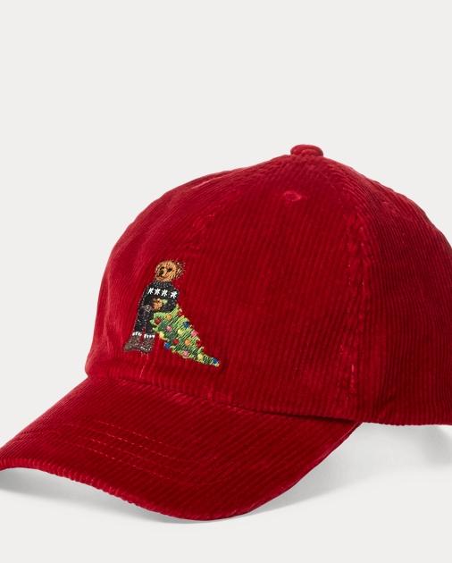 Boys 8-20 Bear Corduroy Baseball Cap 1 b62c62360260