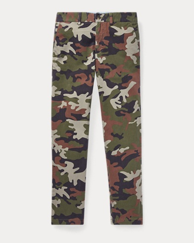 Camo Stretch Skinny Chino