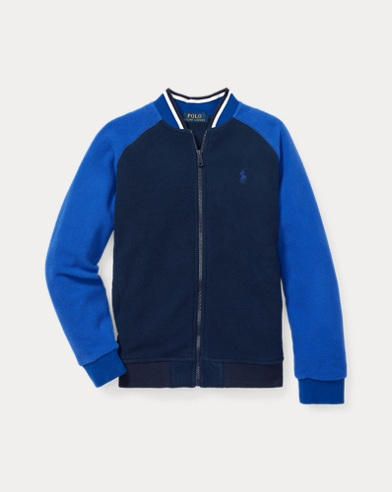 Fleece Baseball Jacket