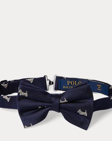 Silk Twill Club Bow Tie